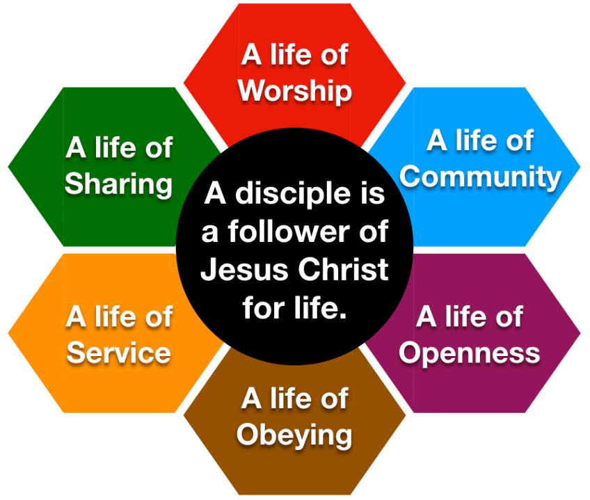 Intentional Discipleship chart
